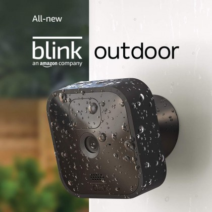 ⚡️ Blink Outdoor 5-Camera Kit (USA Set), wireless, weather-resistant HD security camera with two-year battery life and motion detection (Smarter Home)