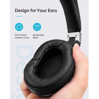 VANKYO C751 Hybrid Active Noise Cancelling Headphones, Over Ear Wireless Bluetooth Headphones with CVC 8.0 Mic, Deep Bass, Hi-Fi Sound, 30H Playtime