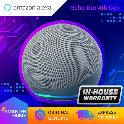 Amazon Echo Dot 4 (4th Gen / 2020) - Smart speaker with Alexa (Smarter Home)
