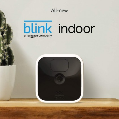 ⚡️ Blink Indoor - 2 camera kit (USA Set), wireless, HD security camera with 2-year battery life, motion detection, and 2-way audio (Smarter Home)