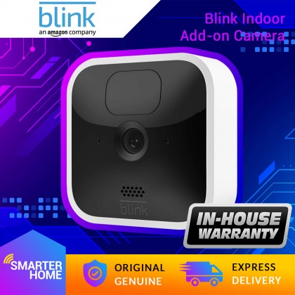 ⚡️ Blink Indoor Add-on camera (Sync Module required) (USA Set), wireless, HD security camera with 2-year battery life, motion detection, and 2-way audio