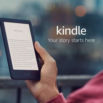 Amazon Kindle E-Reader, 10th Generation (Latest) - Built-in Front Light (Smarter Home)