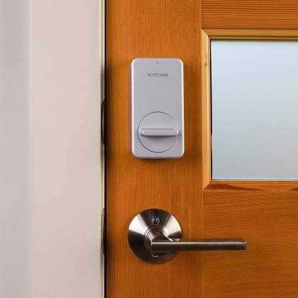 Wyze Lock WiFi and Bluetooth Enabled Smart Door Lock, Wireless & Keyless Door Entry, Hands-Free Voice Control, Amazon Alexa, Wyze Gateway