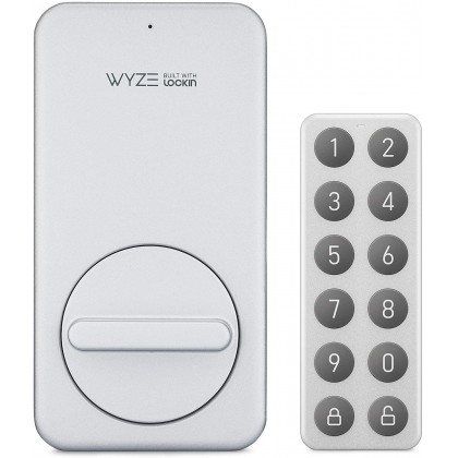 Wyze Lock Keypad for Wyze Lock - Wireless Bluetooth keypad That Allows You to Create, Share, and use Unique Codes to Unlock Your Wyze Lock