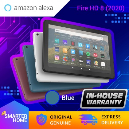 "Amazon Fire HD 8 Tablet (Generation 10th - 2020 Release), 8"" HD Display, Fire OS (Android-based), with Alexa (Smarter Home)"