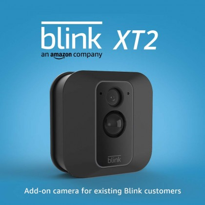 ⚡️ Blink XT2 (USA Set) Add-on Camera Outdoor/Indoor Alexa Smart Security Camera with cloud storage included, 2-way audio, 2-year battery life