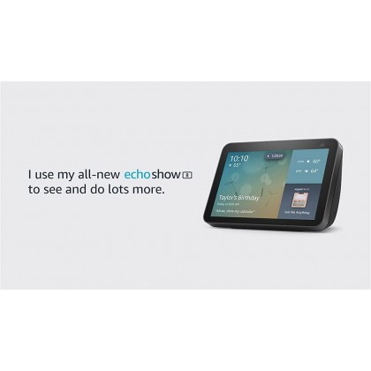 ⚡️ Amazon Echo Show 8 (2nd Gen, 2021 release) - HD smart display with Alexa and 13 MP camera (Latest Version) (Smarter Home)