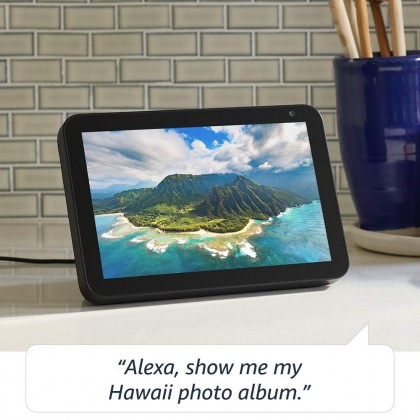 Amazon Echo Show 8 - HD 8 smart display with Alexa (Latest Version) (Smarter Home)