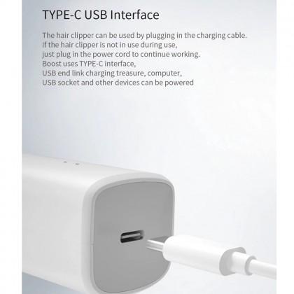 ⚡️ Xiaomi ENCHEN Boost Hair Clipper USB Cordless Wireless Hairclipper Electric Hair Trimmer Men Kids USB Rechargeable Battery Hair Cutting Machine
