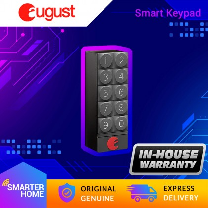 ⚡️ August Smart Keypad, Keypad entry for your August Smart Lock (Smarter Home)