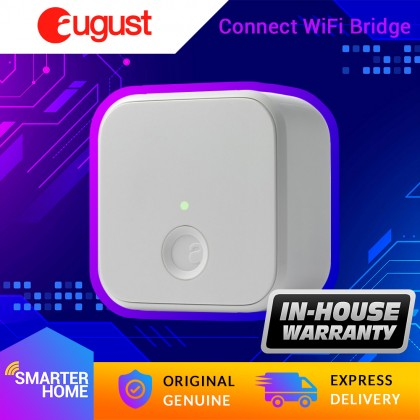 ⚡️ August Connect Wi-Fi Bridge. Remote access, Alexa integration for your August Smart Lock. (Smarter Home)