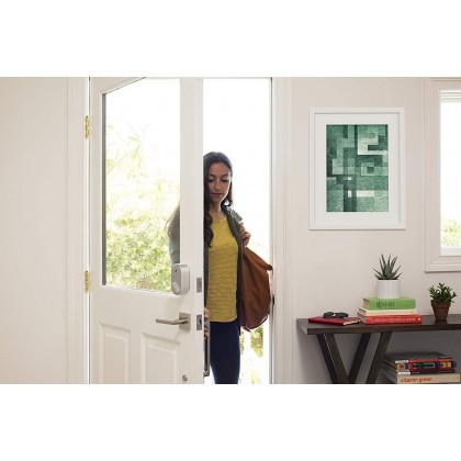 ⚡️ August Smart Lock - Keyless Home Entry with Your Smartphone - Silver (Smarter Home)