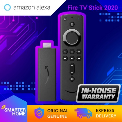 Amazon Fire TV Stick (2020) Full HD streaming media player device with Alexa Voice Remote ( with TV controls) (Smarter Home)