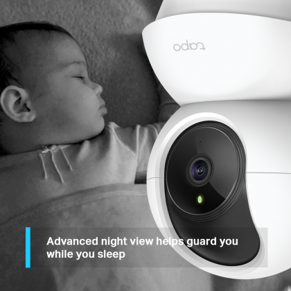 TP-Link Tapo C200 1080P Full HD Pan/Tilt Wireless Home Security Wi-Fi IP CCTV Camera (Smarter Home)
