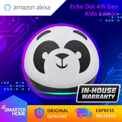 Amazon Echo Dot (4th Gen) Kids Edition | Designed for kids, with parental controls (Smarter Home)
