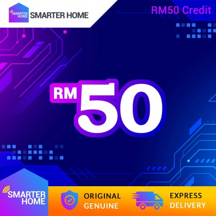 Smarter Home RM50 Cash Credit (2,631 Points Needed)
