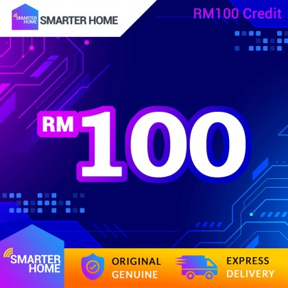 Smarter Home RM100 Cash Credit (5,128 Points Needed)