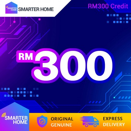 Smarter Home RM300 Cash Credit (15,000 Points Needed)