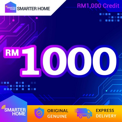 Smarter Home RM1,000 Cash Credit (47,619 Points Needed)