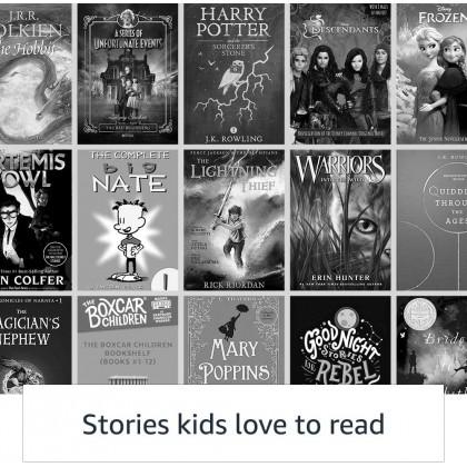 ⚡️ Amazon Kindle Kids, a Kindle designed for kids, with parental controls (Smarter Home)