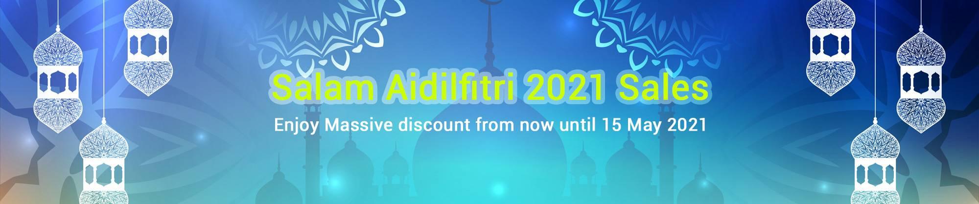 Salam Aidilfitri 2021 Sales